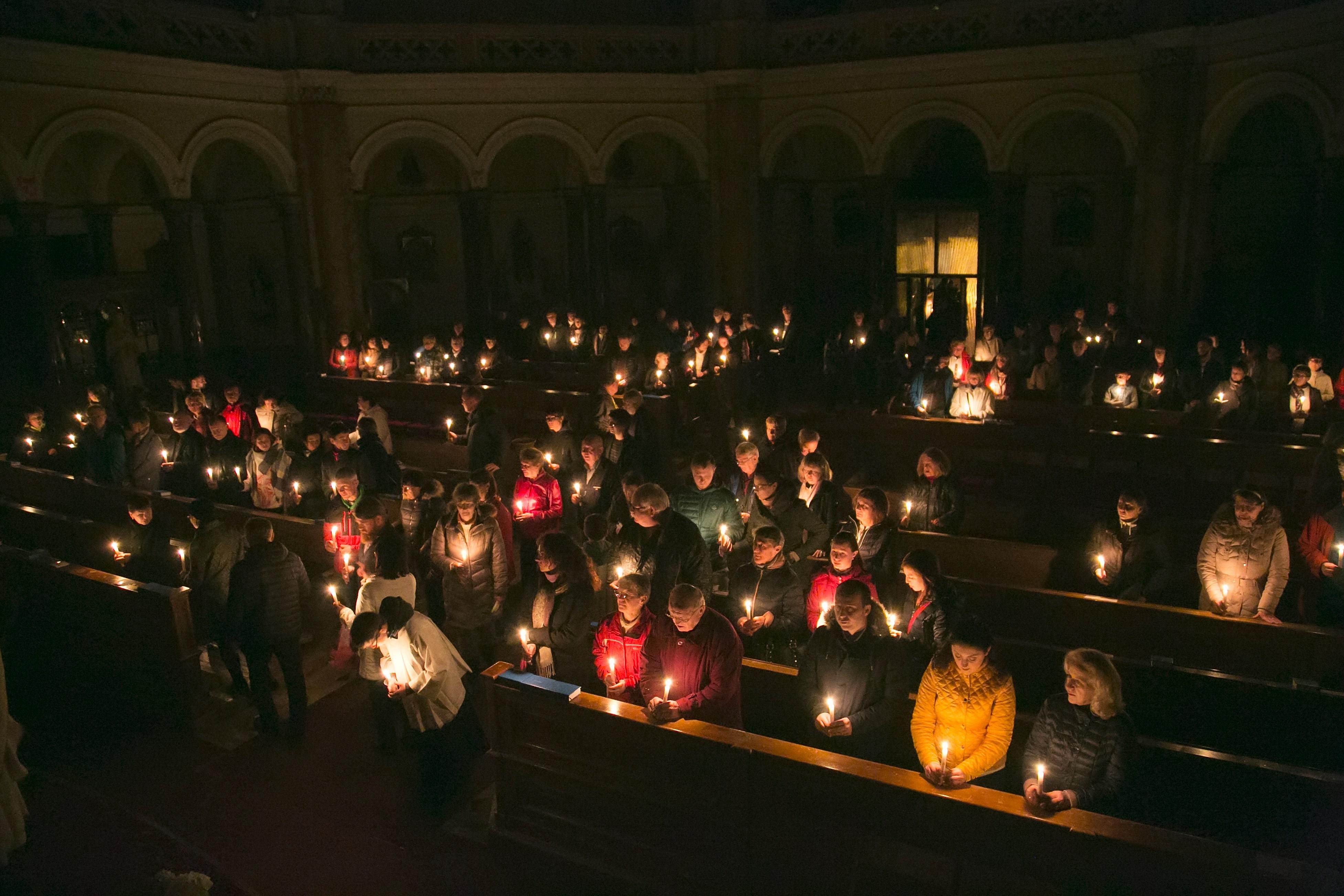 Slavnost velikonoční svíce