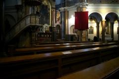 Kostel po obřadech